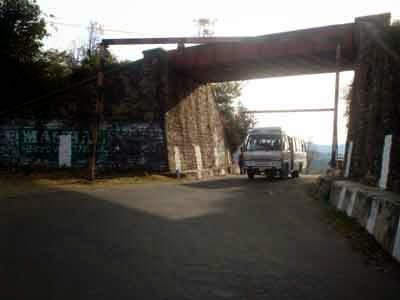 Rail underbridge near Sunrise Villa