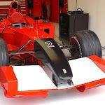 Black 911 Ferrari 2001 nose cone