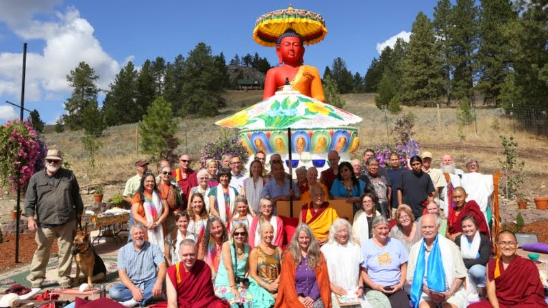 Amitabha celebration day, Buddha Amitabha Pure Land, Washington, US, August 23, 2014. Photo by Ven. Thubten Kunsang.