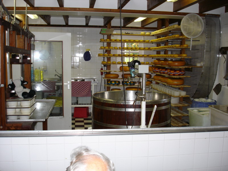 Cheese and Clog making factory tour on the outskirts of Amsterdam