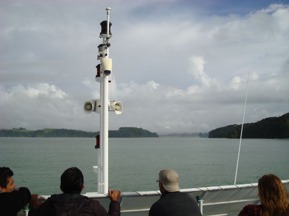 Out on a cruise round the islands