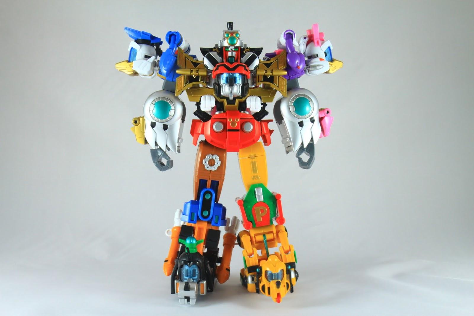 完成! King Robot! 登登!