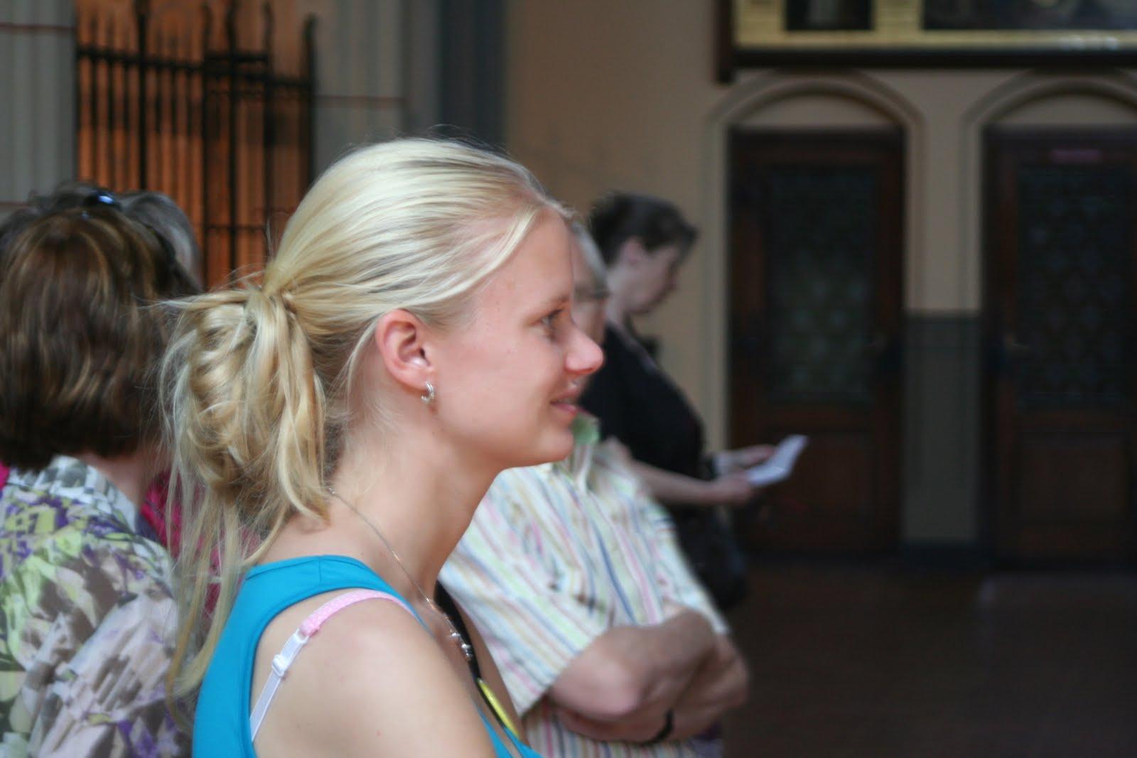 Leanne bewonderd het Koninklijk Hengelo's Mannenkoor