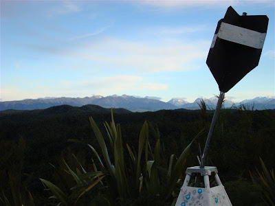 A trig station on SH6 (Murchison - Nelson)