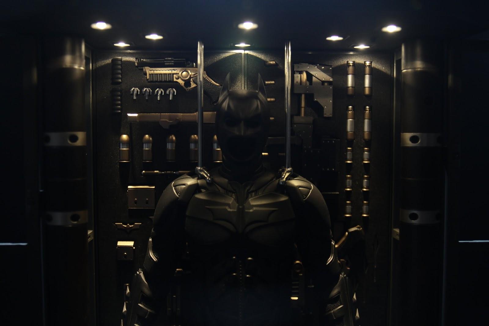 裝甲本身就是拿蝙蝠俠來放, 換掉頭手腳