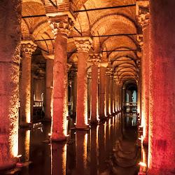 Цистерна Базилика в Истанбул