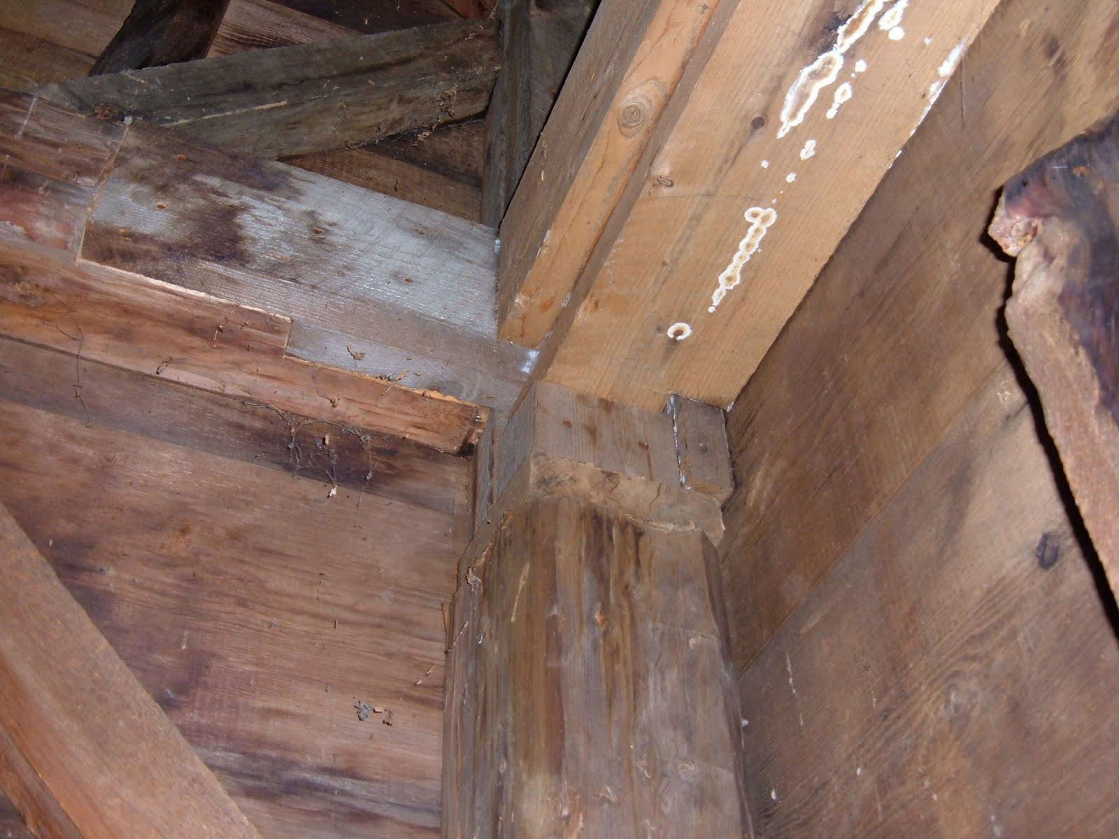 Bad repairs done several years before were also beginning to rot and fail.