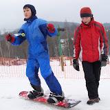 Zkoušíme si snowboard (1)