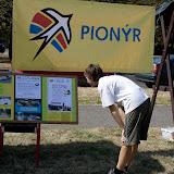 Logo Pionýra a naše nástěnka