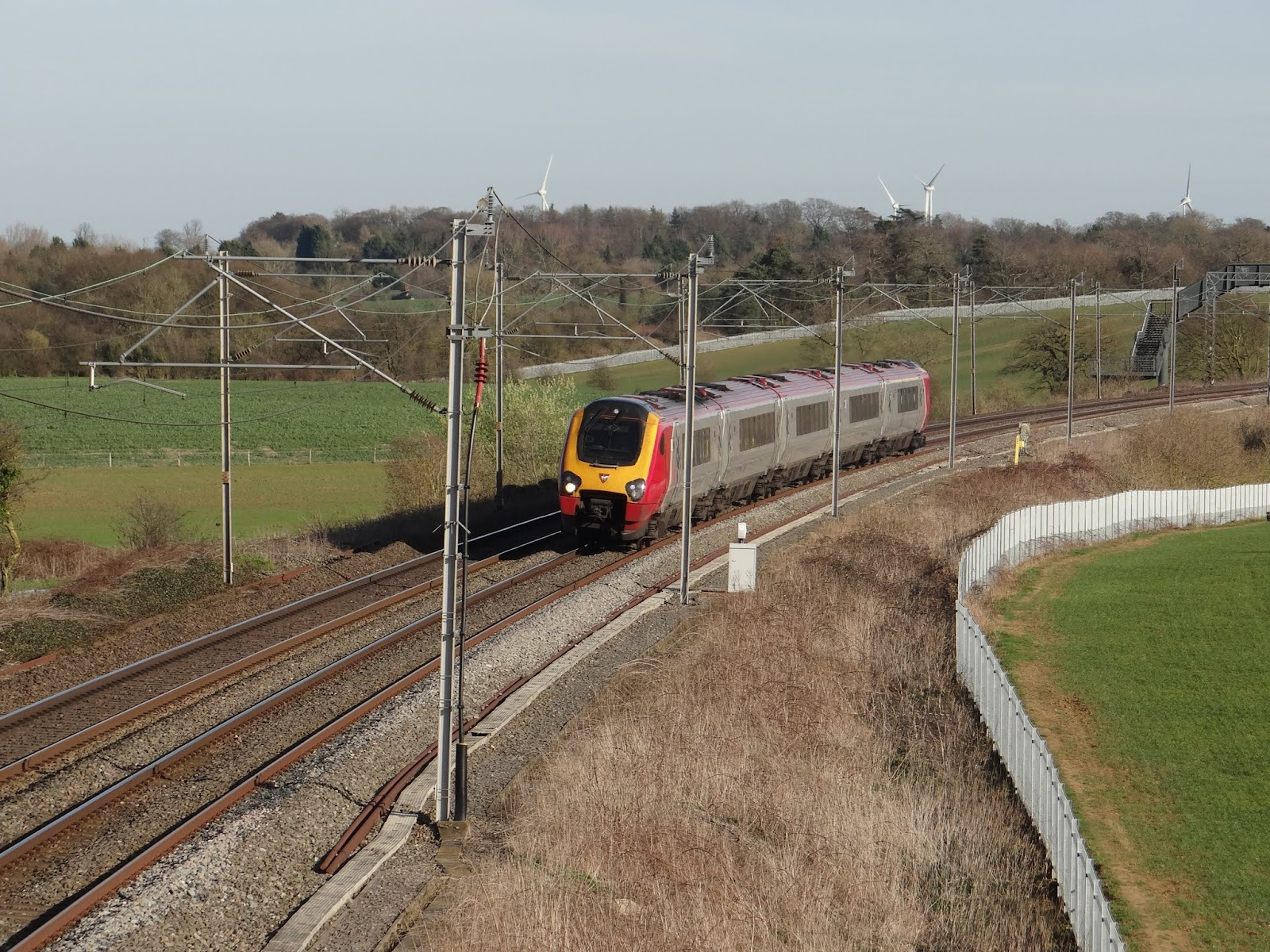 Here's one but it's not a Pendolino