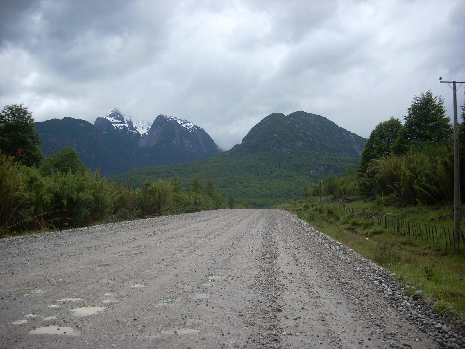 Dirt roads again