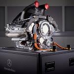 Mercedes W06 F1 engine