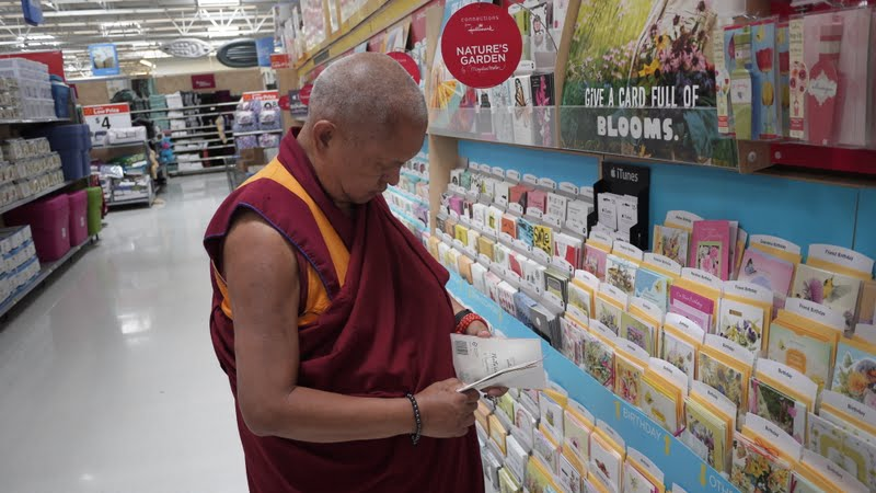 Shopping for cards