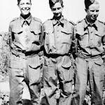 Stanley Saunders (Navy), Jim Brinsdon (Army), Jack Trewin Smith (Navy, then transferred to the Fleet Air Arm)