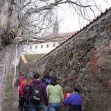 Stoupáme k Františkánskému klášteru