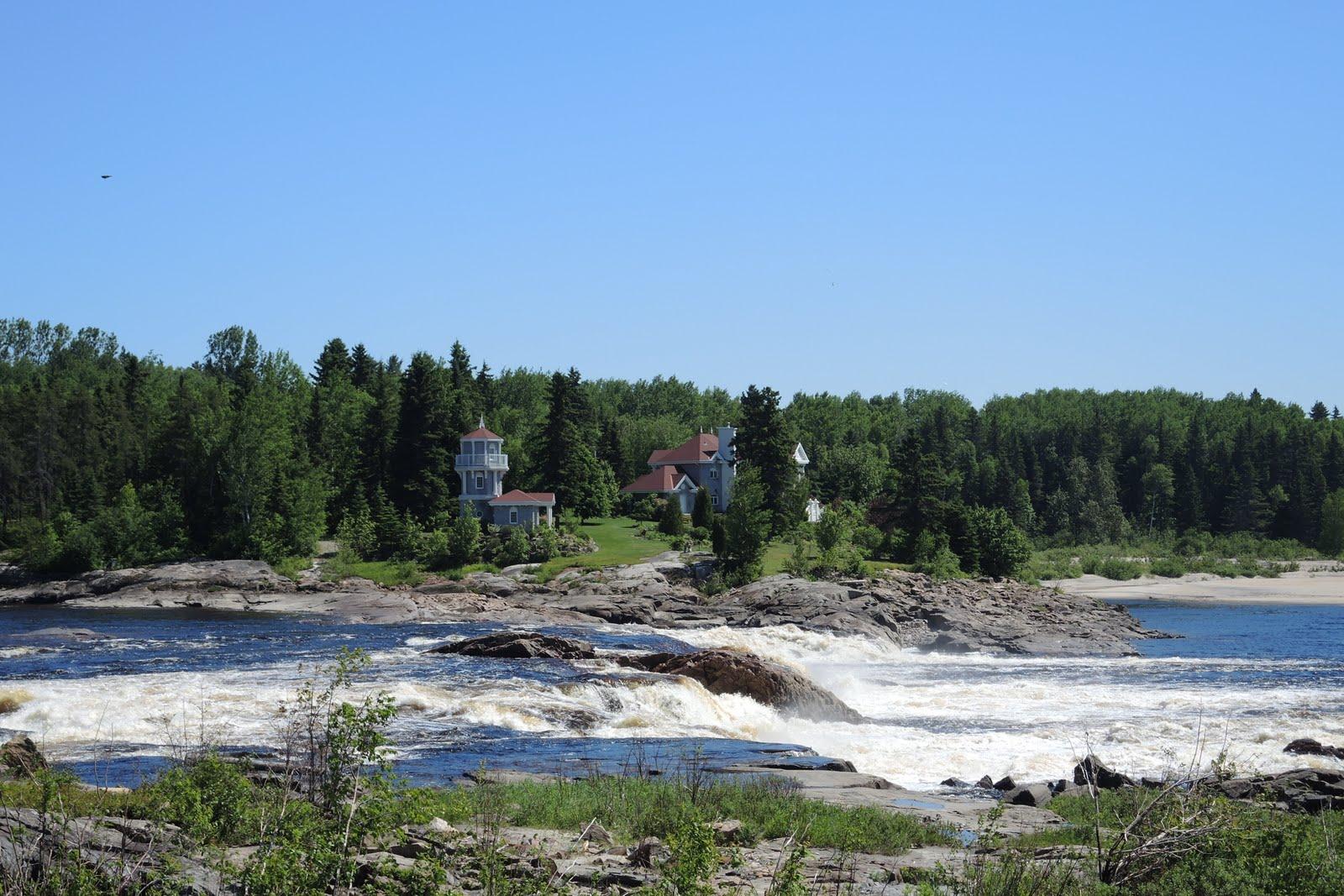 Chutes de la rivière Mistassini