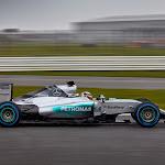 Mercedes W06 drive by