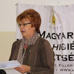 Pogány Erzsébet, a SZAKC igazgatója az 1956-os forradalomról emlékezett meg
