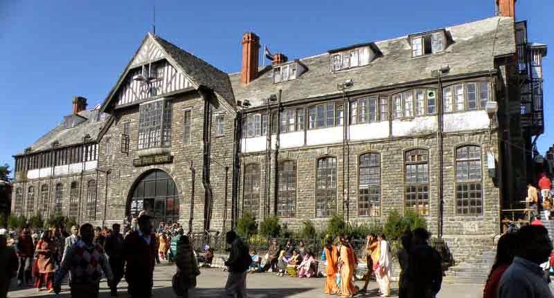 town hall heritage building Shimla
