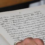 Dr. Lux Gyula tartalékos hadnagy az első világháborúról írt feljegyzéseket, majd gyöngybetűvel naplóba írta