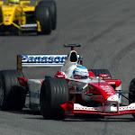 Mika Salo, Toyota TF102