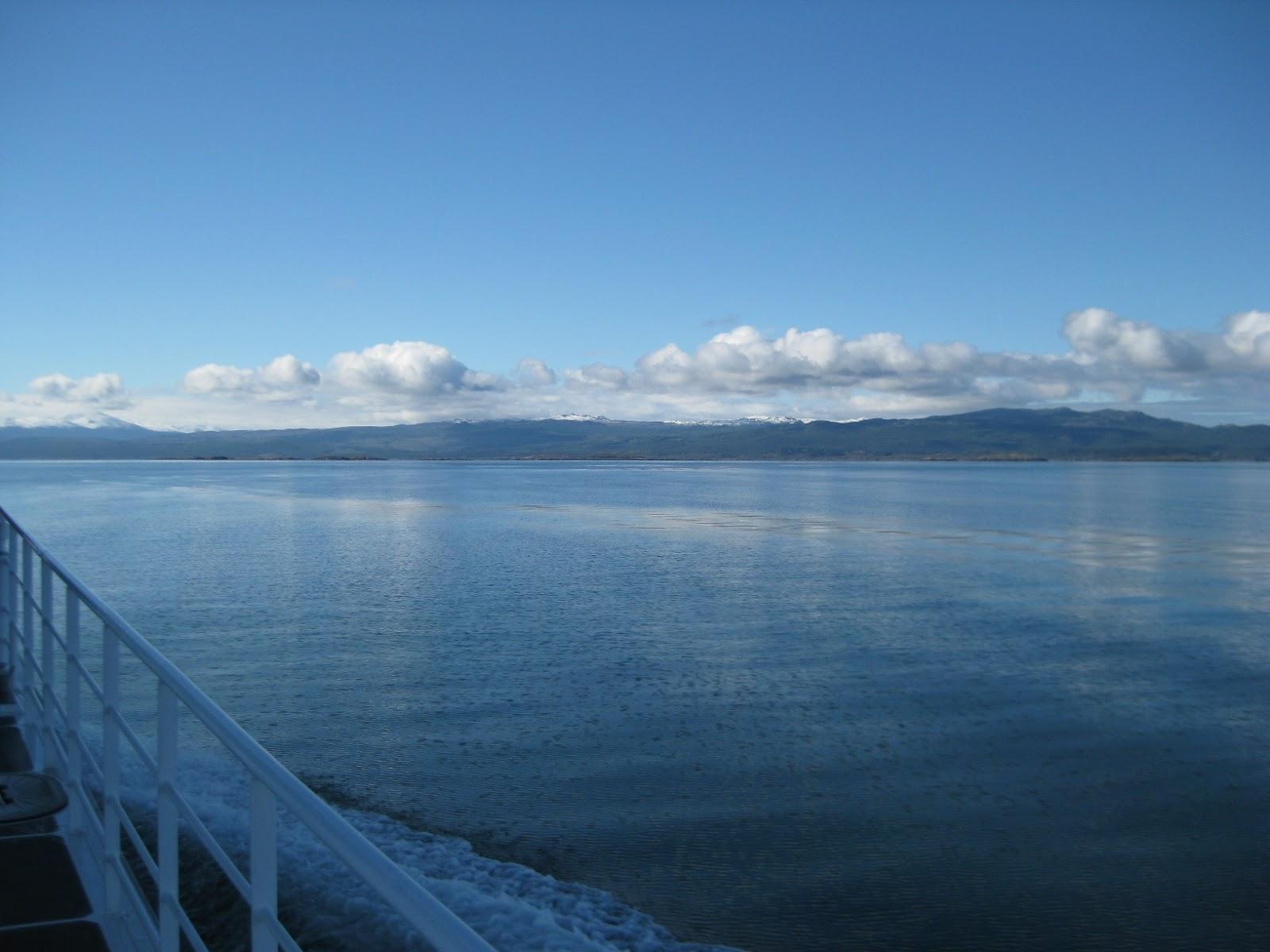 Across to Chile (Isla Navarino)