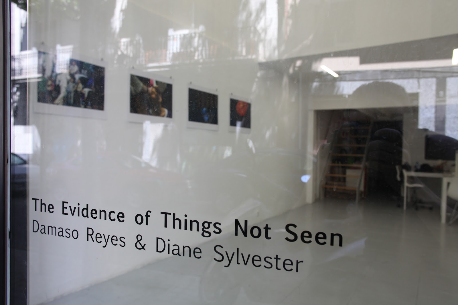 Damaso Reyes & Diane Sylvester. The Evidence of Things Not Seen.