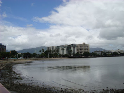Cairns after a morning of rain