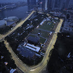 Singapore Circuit overview to downtown