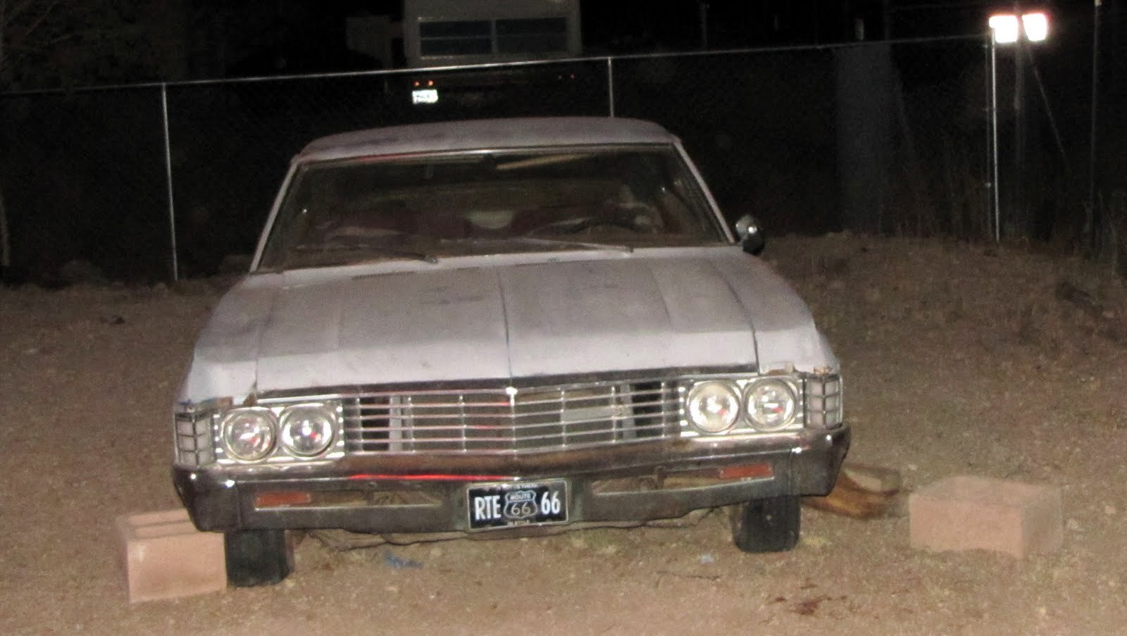 Route 66, Arizona, 1968 Chevrolet Impala