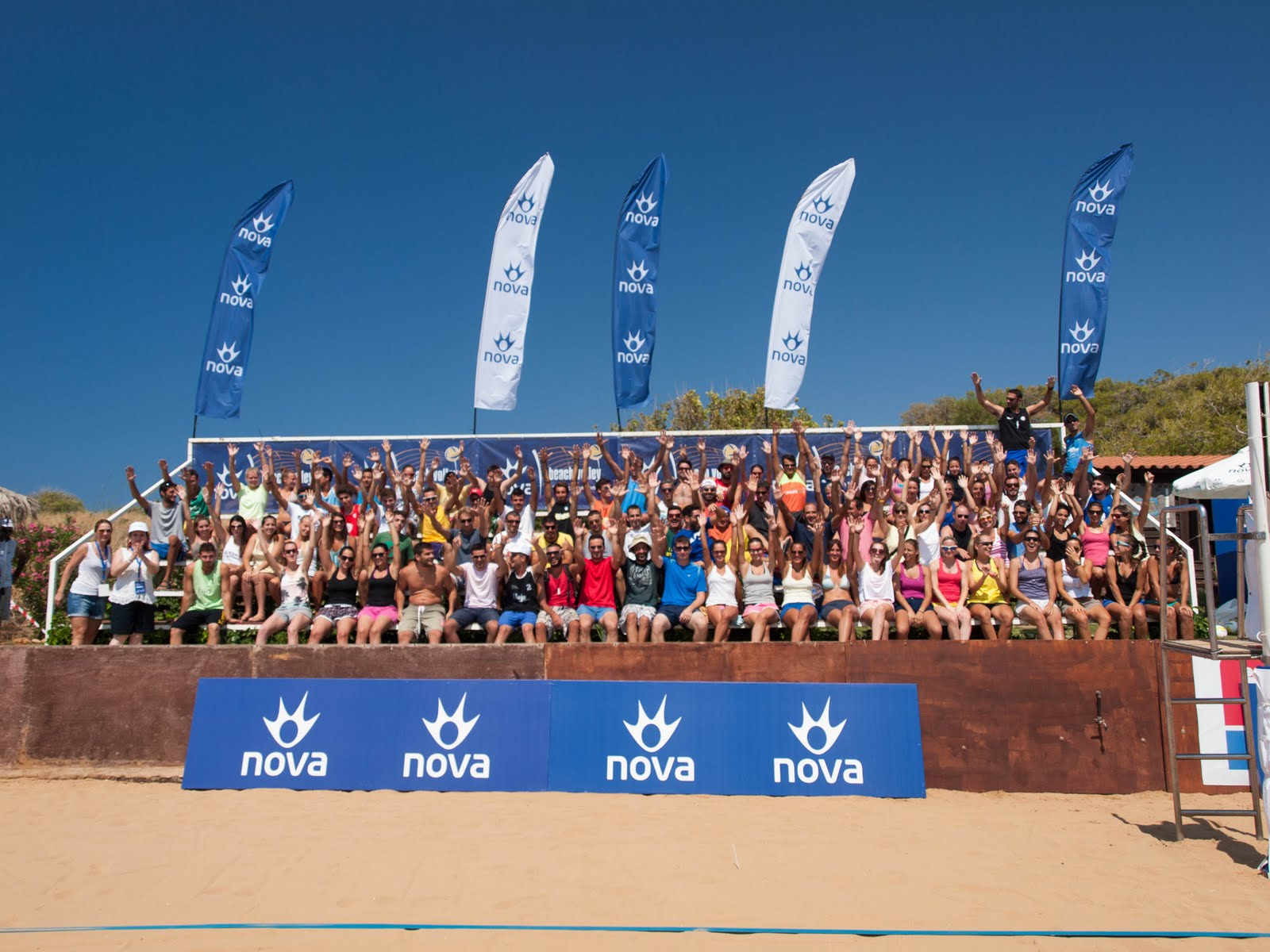 14th Nova Beach Volley Tournament, 2013