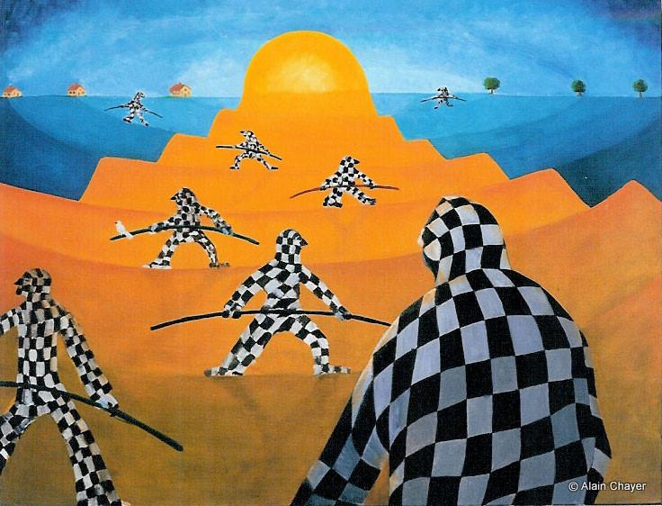 003 - Le Grand Cirque 1976 92 x 73 - Huile sur toile