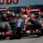 2014.Romain Grosjean, Lotus E22 Renault