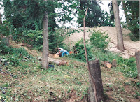 1996 - Construction of Back of the Temple 6