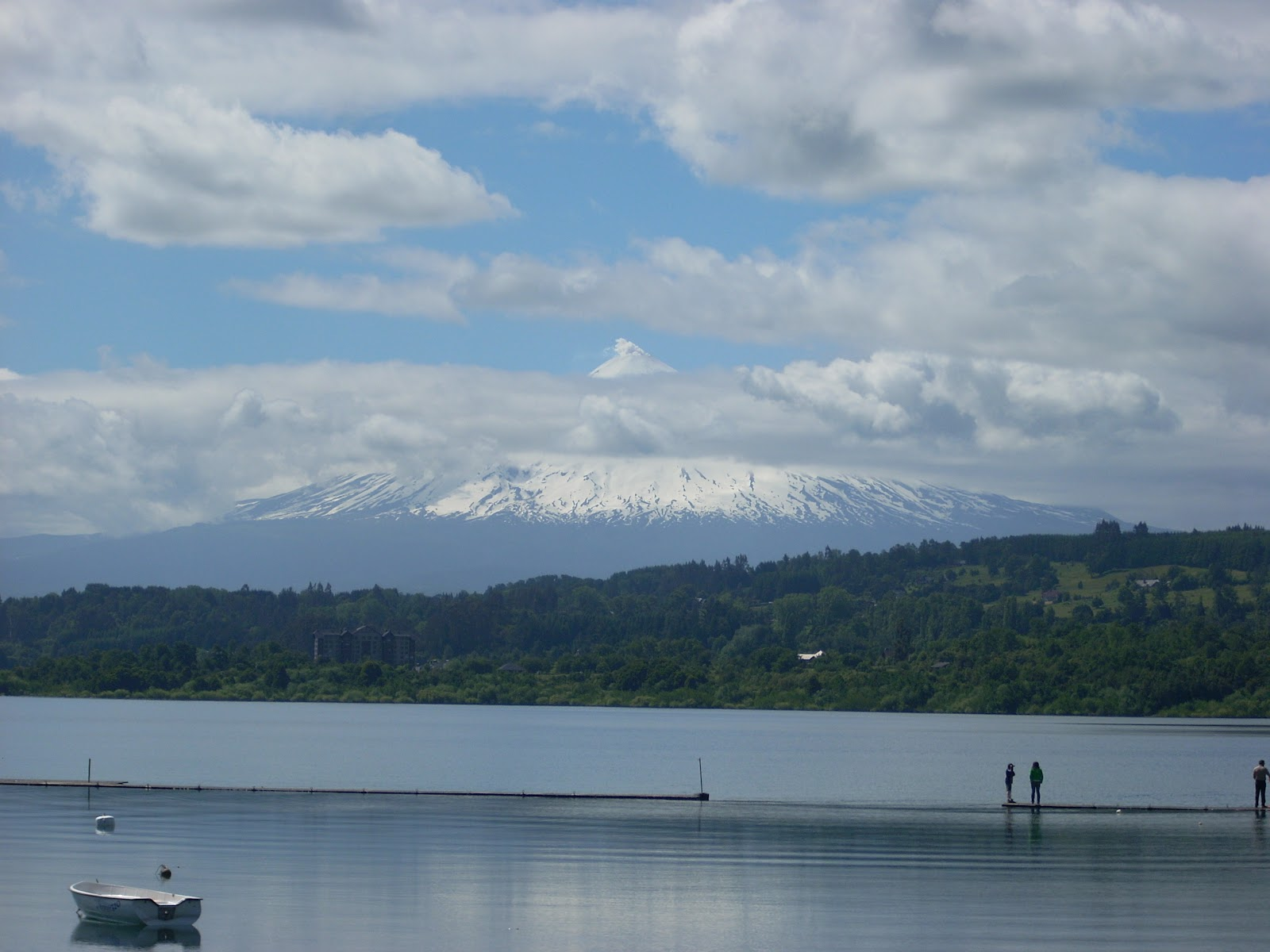 As much as you can see of Villaricca volcano - as ever, most mountains are shrouded in cloud.