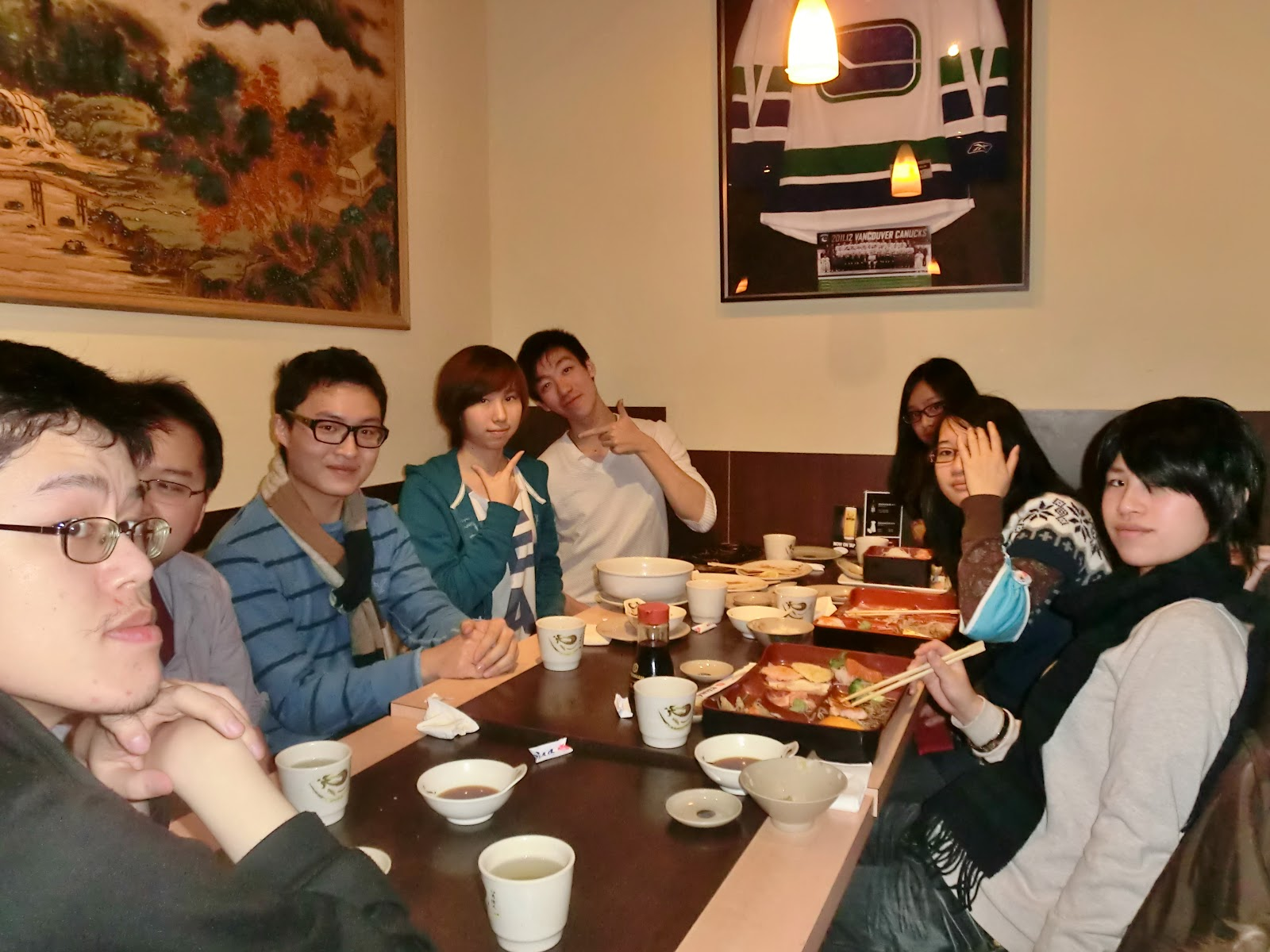 Dinner Outing 2012
