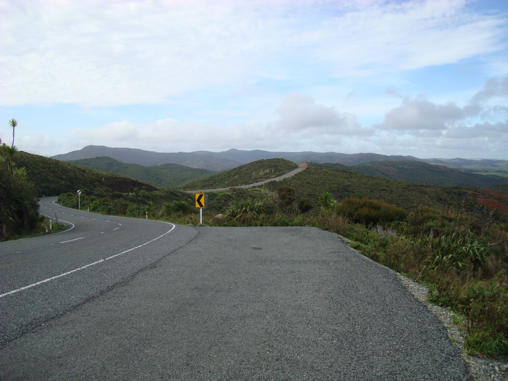 Almost at the Cape. Looking back and where I came from