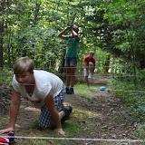 V rámci výcviku trénujeme i fyzičku