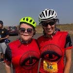 Addie and Jenni, Cheyenne ride