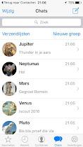 whatsapp geschiedenis