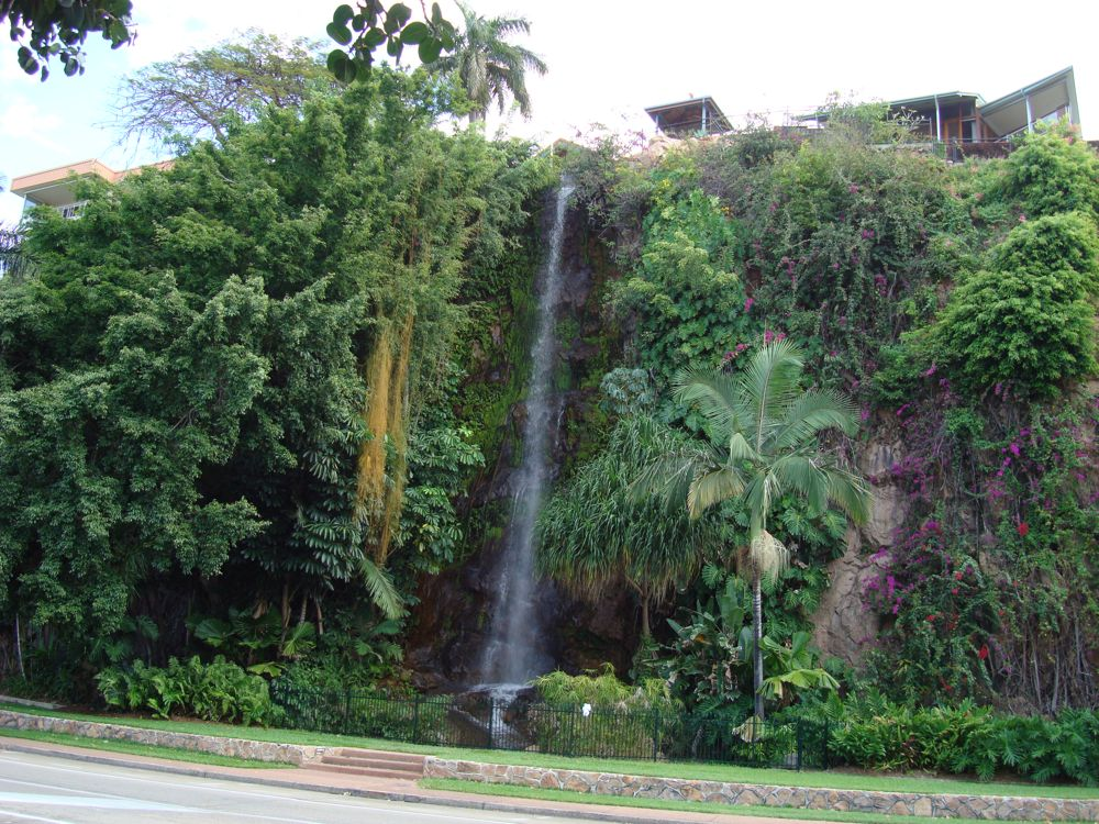 Waterfall on the strand, Townsville