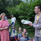 A bronzový Lipový list Zdeně, která více jak 20 let vedla naší skupinu a nadále na ní aktivně pracuje