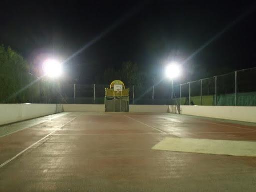 2010-07-19 Flutlichtanlage Funcourt