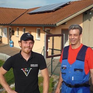Installation der Solaranlage Mai 2012