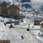 Gudauri has modern hotels and skiing facilities