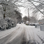 Upton in the snow, February 2009