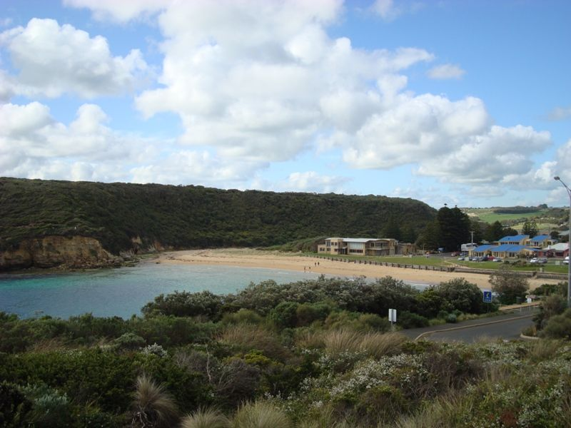 The beach at Port Campbell
