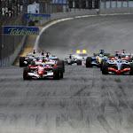 Start of the 2006 Brazilian F1 Grand Prix