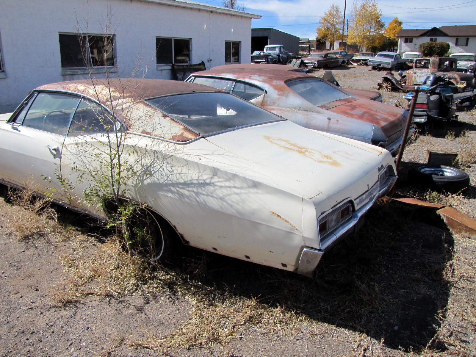 1968 Chevrolet Impala Sports Coupe, 1969 Chevrolet Chevelle