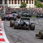 Adrian Sutil, Sauber C33 from behind